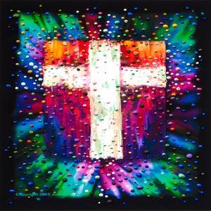 Image of The Divine Energy Cross - Giclee Print