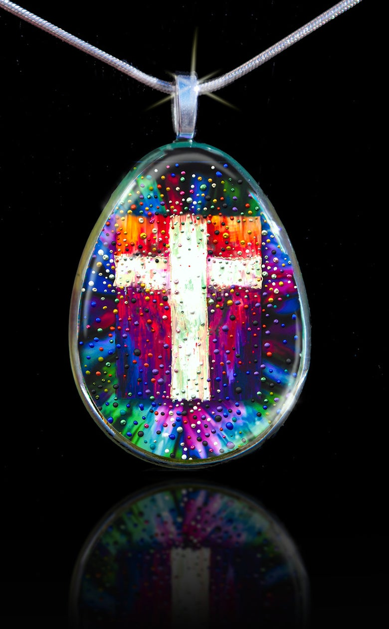Image of The Divine Energy Cross Pendant