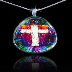 Image of The Divine Energy Cross Pendant