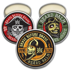 Image of GRAVE BEFORE SHAVE™ BEARD BALM 3 PACK