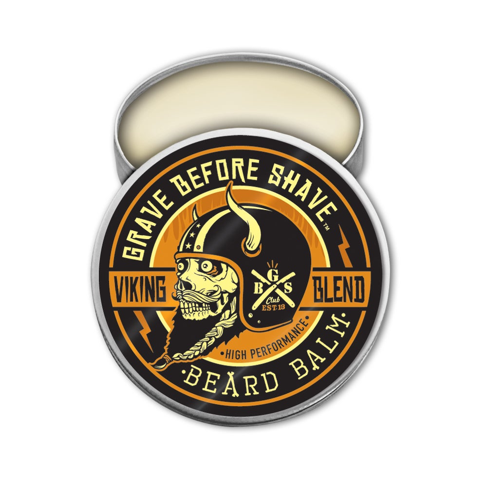 Image of GRAVE BEFORE SHAVE BEARD BALM 3 PACK