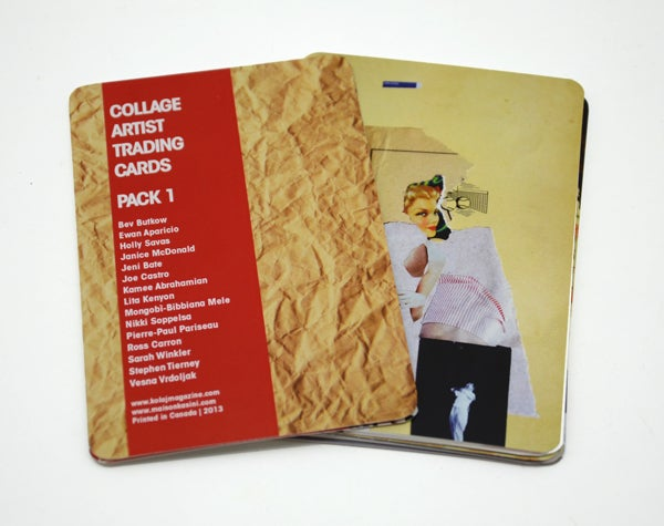 Image of Collage Artist Trading Cards Pack 1