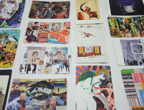 Image of Collage Artist Trading Cards Pack 2