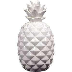 Image of White Pineapple Decor