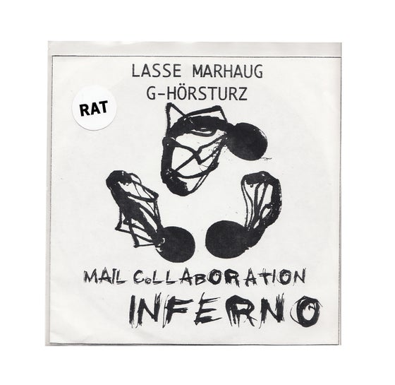 Image of MAIL COLLABORATION: INFERNO by LASSE MARHAUG / G-HORSTURZ