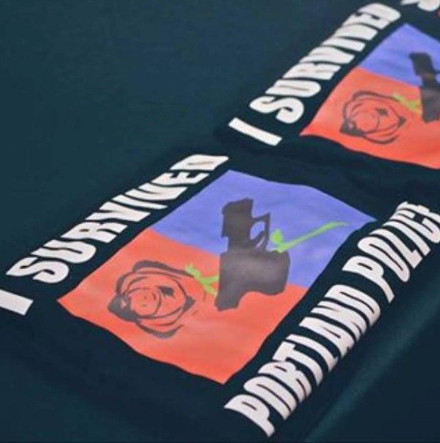 Image of 'I Survived Portland Police' T-Shirt