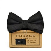 Image of black tie {kids bow tie}