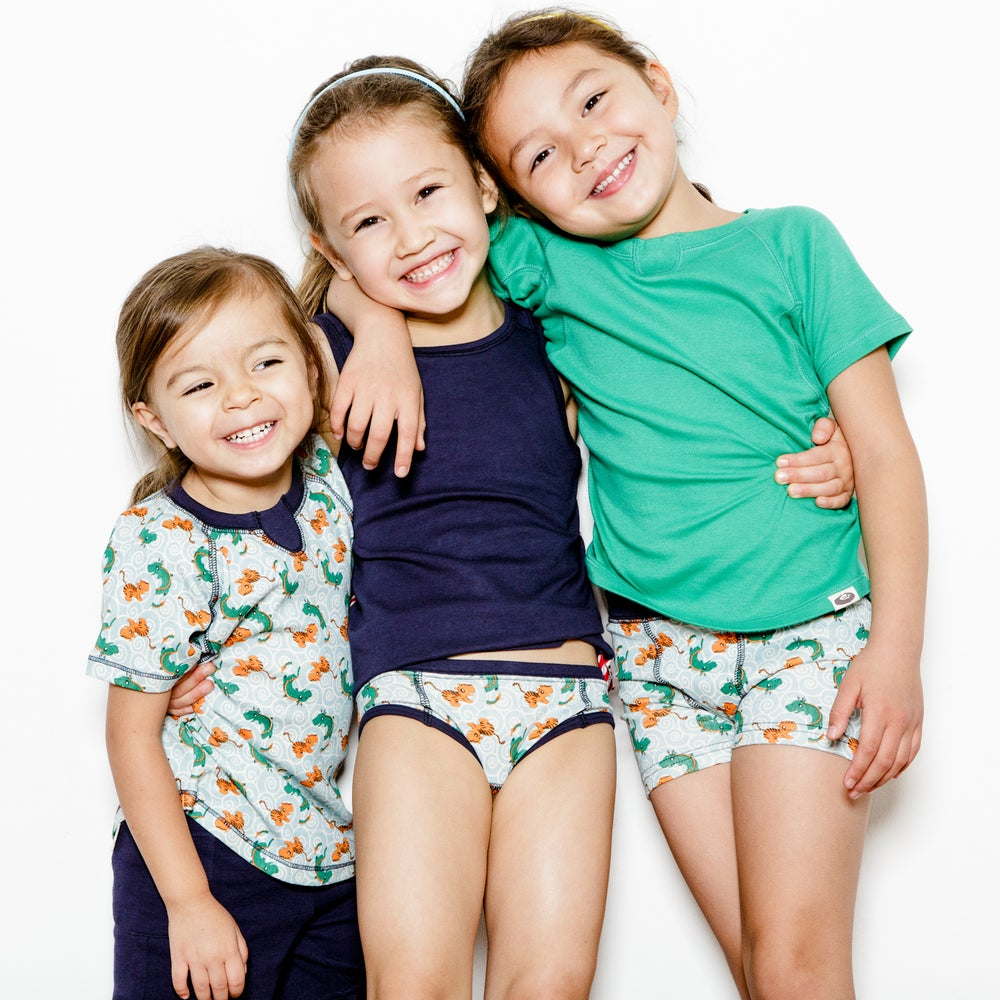 Image of Unders Unisex Boxer Brief . Hide & Seek Pattern 3 Pack