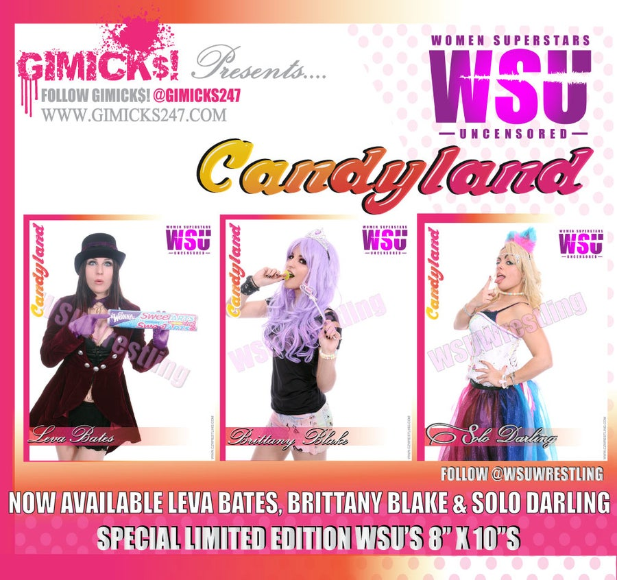 "Image of Limited Special Edition ""CANDYLAND"" 8"" x 10""s Volume #1"