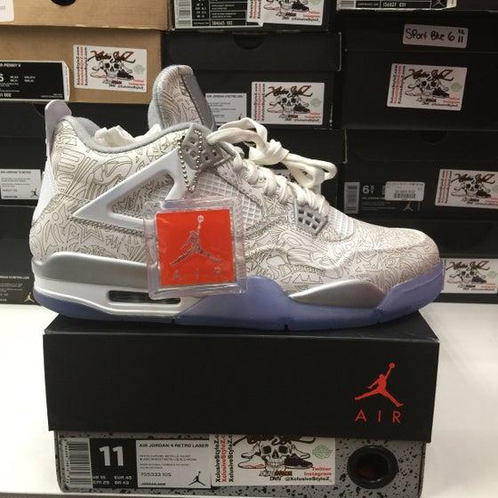 Image of Air Jordan Retro 4 Lasers