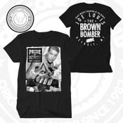 Image of Joe Louis - Brown Bomber  - black