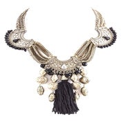 Image of Antique Tribal Tassel Necklace