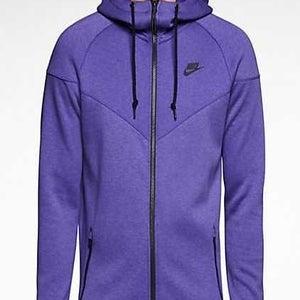 """Image of Nike Tech Fleece Windrunner """"Light Court Purple"""""""