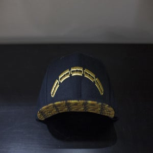 Image of Rebel Razor Gold Snapback