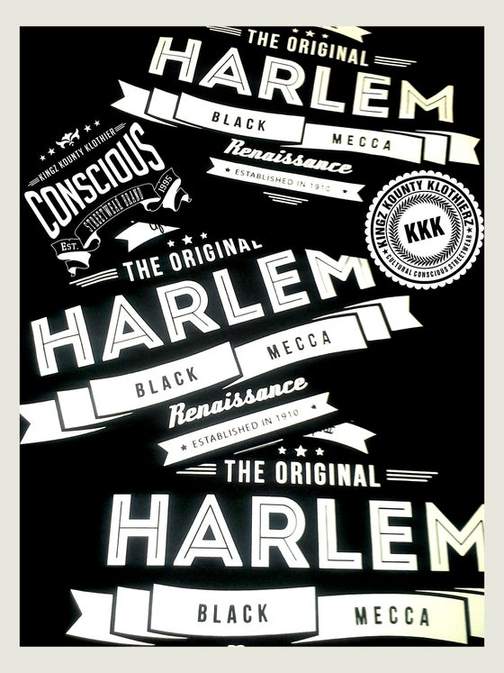 "Image of HARLEM RENAISSANCE ""BLACK MECCA"" COLLECTION TSHIRTS #2"