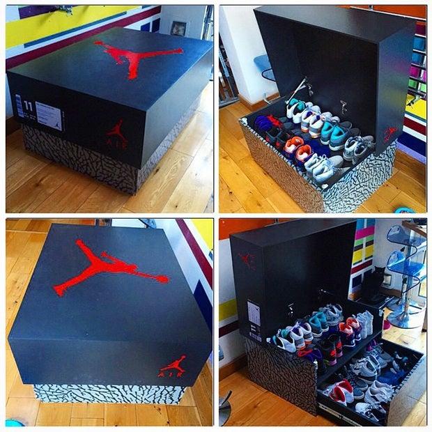 Image of SALE ENDS 5.20 Jordan shoe storage!
