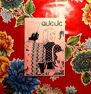 Image of QUEUE zine