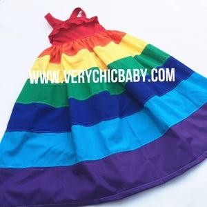 Image of Rainbow Maxidress