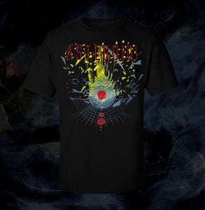 Image of T-Shirt Asteroidi (Black) + Poster U.M.A. A2 size (BENDED)
