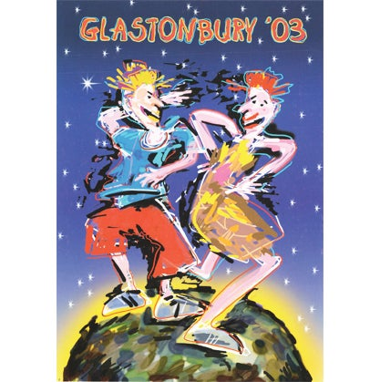 Image of Limited Edition Glastonbury Stone Ravers 2003