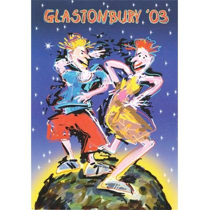 Image of Limited Edition Glastonbury Stone Ravers 2003
