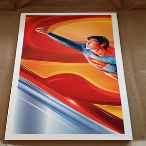 Image of Man of Steel- 12x24 Edition 75