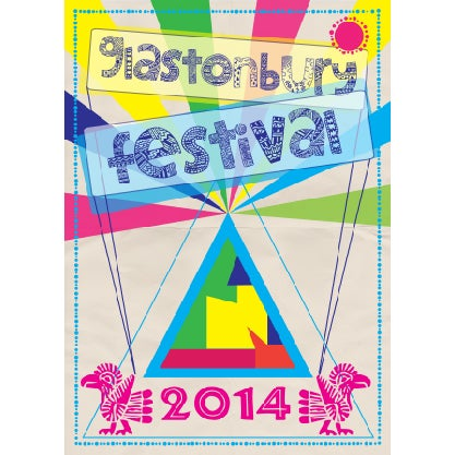Image of Limited Edition Glastonbury Aztec 2014
