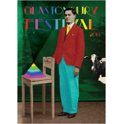 Image of Limited Edition Eddie Goes to Glastonbury 2014