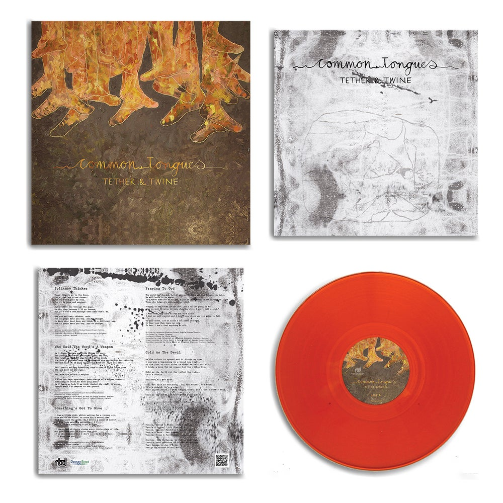 "Image of 'Tether & Twine' Limited Edition 12"" Orange Vinyl"