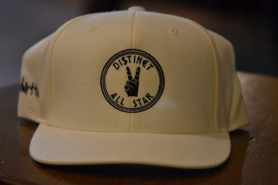 Image of Natural Distinct All-Star Snapback Hat