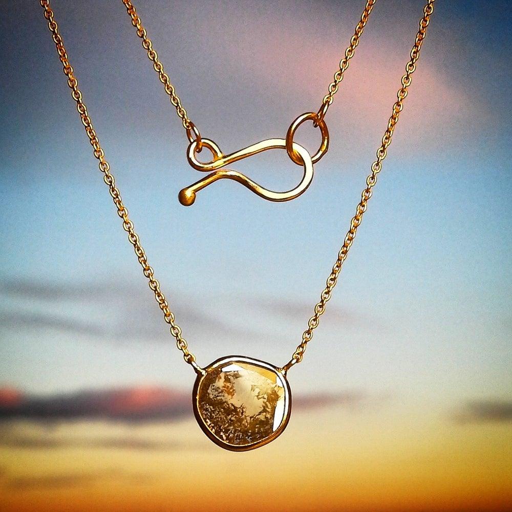 Image of Diamond Slice Necklace