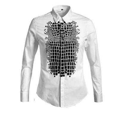 Image of Mosaic Button Down