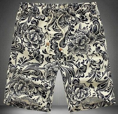 Image of Floral Bermuda Shorts