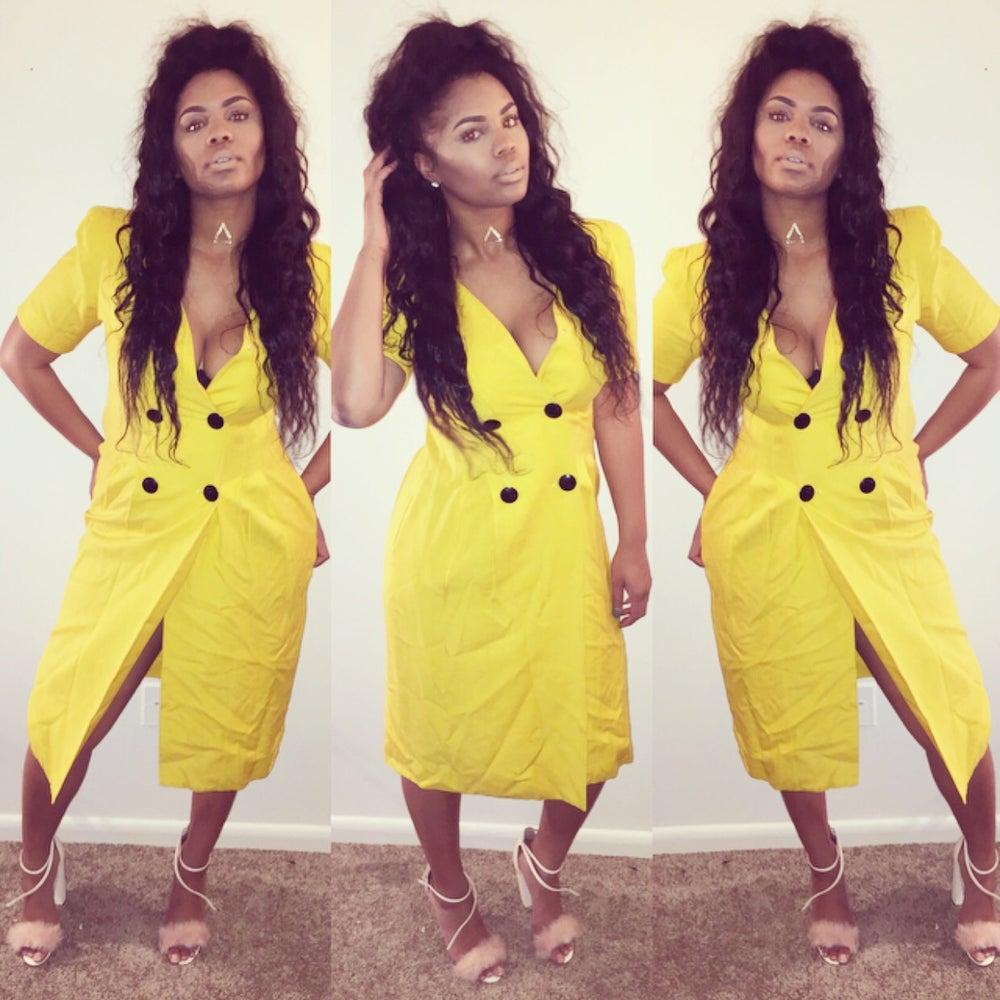 Image of Mellow Yellow Dress