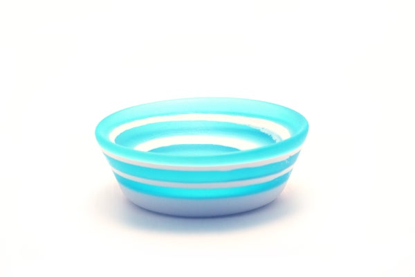 Image of Layered Turquoise Pinch Bowl