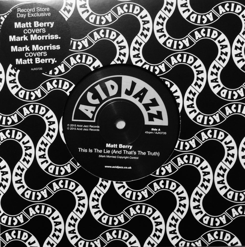 Image of RSD 2015 - Matt Berry & Mark Morriss - Double A-side 7""