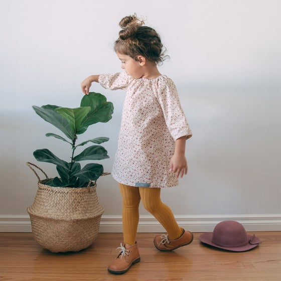 Image of Petit Fleur Smock Dress with Bloomer Option