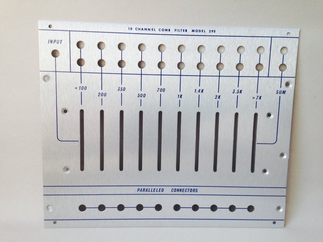 Image of 295 front panel (for DIY kit)