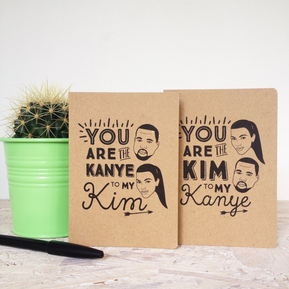 Image of Kim & Kanye 'All Day' Card