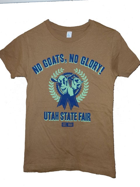 Image of 2013 Official Utah State Fair Shirt Youth - (Brown)