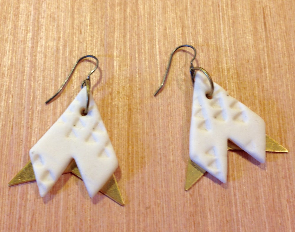 Image of C/C earrings