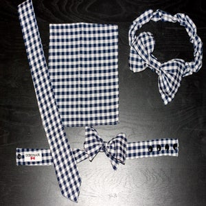 Image of Navy Gingham