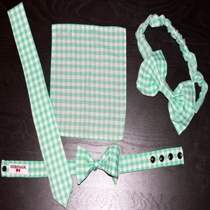 Image of Pale Green Gingham