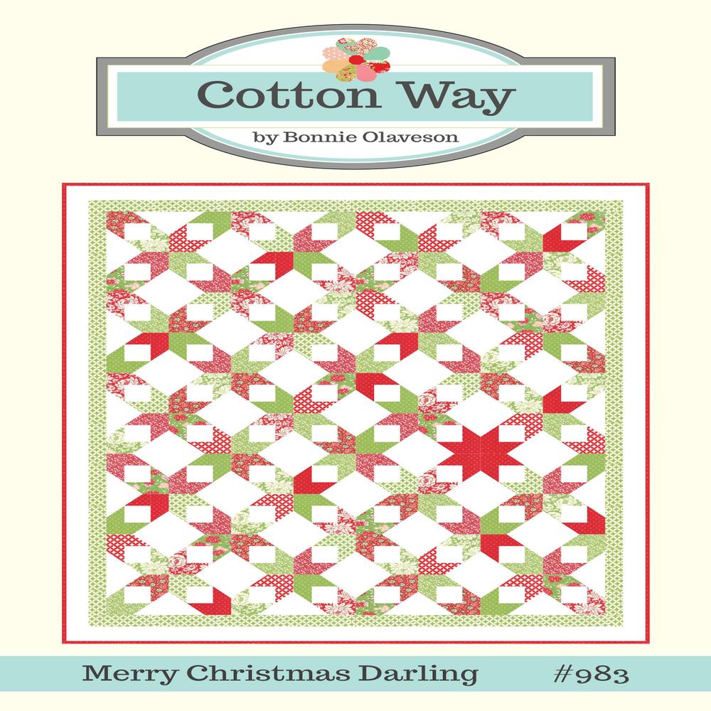Cotton Way Merry Christmas Darling Pdf Pattern 983