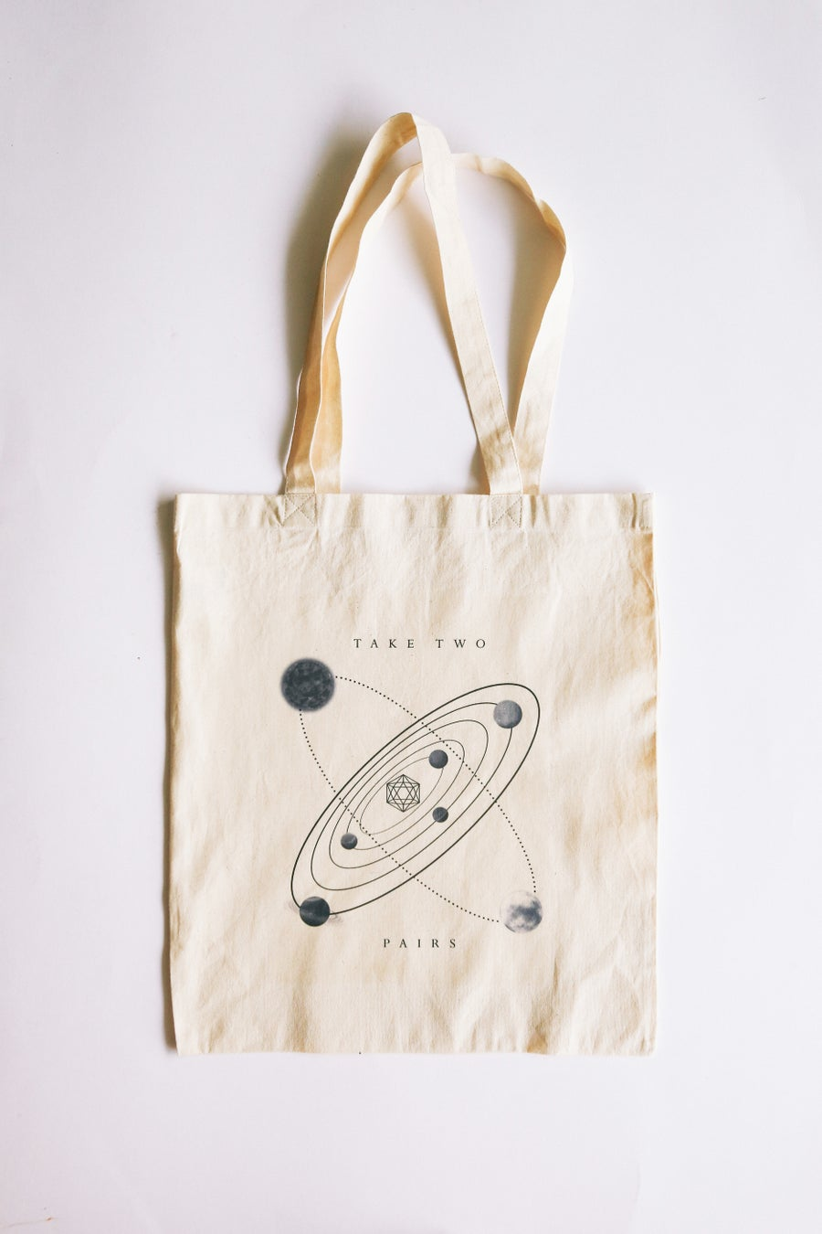 "Image of ""PAIRS"" Limited Edition Tote Bag"
