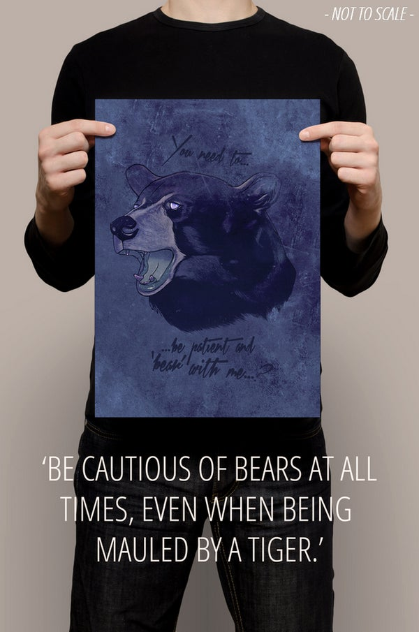 "Image of ""BEAR WITH ME"""