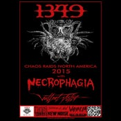 Image of 1349 - NECROPHAGIA - BLACK ANVIL @ Ottobar may 30th