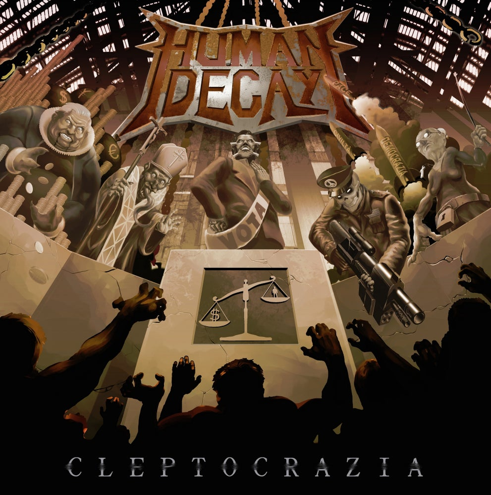 "Image of ""Cleptocrazia"" full-lenght album"
