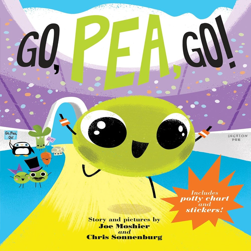 Image of Go, Pea, Go! Book with toddler shirt (boys)