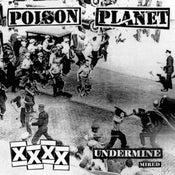 "Image of POISON PLANET 'Undermine' 7"""